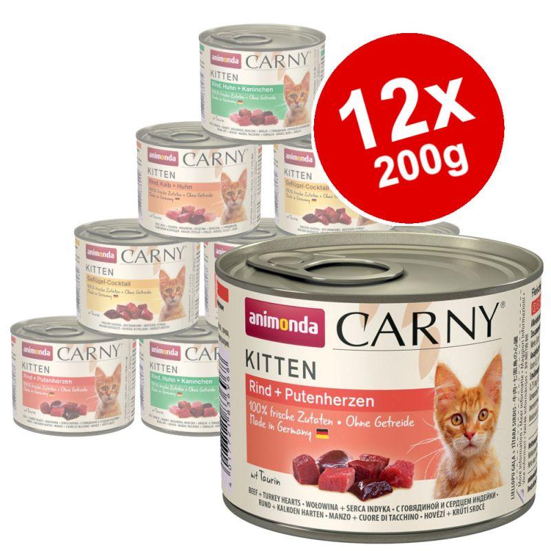 Animonda Carny Kitten Mixed Pack 12 x 200g