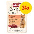Animonda Carny Kitten Pouch Saver Pack 24 x 85g