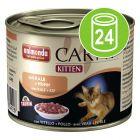 Animonda Carny Kitten Voordeelpakket Kattenvoer 24 x 200 g