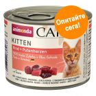 Комбинирана опаковка Animonda Carny Kitten 12 x 200 г