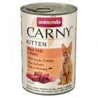 Animonda Carny Kitten, 6 x 400 g