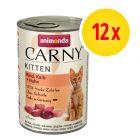 Animonda Carny Kitten 12 x 400 g - Pack Ahorro