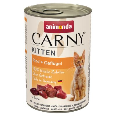Animonda Carny Kitten 12 x 400 g - Pack Ahorro