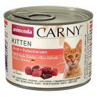 Animonda Carny Kitten 6 x 200 g pour chat