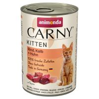 Animonda Carny Kitten 6 x 400 g pour chaton