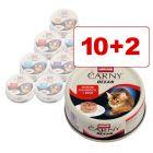 Animonda Carny Ocean 12 x 80 g: 10 + 2 kaupan päälle!