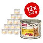 Animonda Carny Senior -säästöpakkaus 12 x 200 g