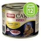 Animonda Carny Senior Voordeelpakket 12 x 200 g