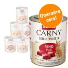 Animonda Carny Single Protein Adult пробна опаковка 6 x 800 г