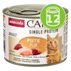 Animonda Carny Single Protein Adult 12 x 200 g