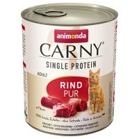 Animonda Carny Single Protein Adult, 6 x 800 g