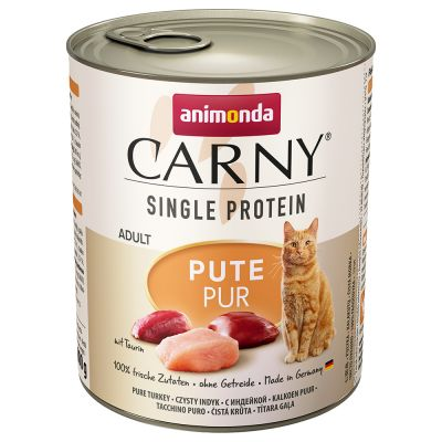 Animonda Carny Single Protein Adult 24 x 800 g Kattenvoer