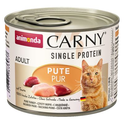 Animonda Carny Single Protein Adult 24 x 200 g Kattenvoer