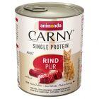 Animonda Carny Single Protein Adult 6 x 800 g para gatos