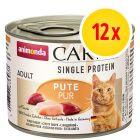 Animonda Carny Single Protein Adult 12 x 200 g para gatos
