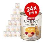 Animonda Carny Single Protein Adult 24 x 800 g para gatos - Pack económico