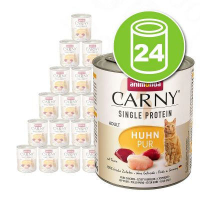 Animonda Carny Single Protein Adult 24 x 800 g pour chat