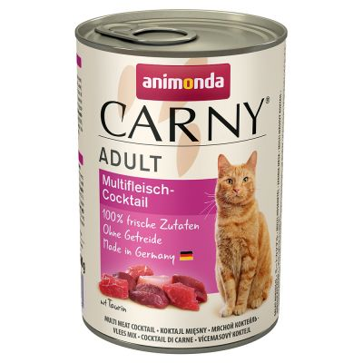 Animonda Carny 6 x 400 g pour chat