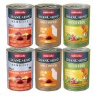 Animonda GranCarno Adult Blandet pakke 6 x 400 g