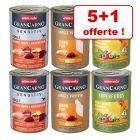 Animonda GranCarno Adult Monoprotein 6 x 400 g pour chien 5 boîtes + 1 offerte !