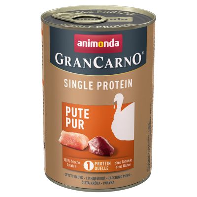 Animonda GranCarno Adult Single Protein Hondenvoer 24 x 400 g