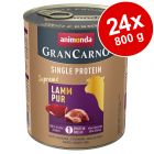 Animonda GranCarno Adult Single Protein Supreme -säästöpakkaus 24 x 800 g