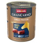 Animonda GranCarno Adult Single Protein Supreme 6 x 800 g