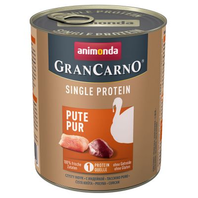 Animonda GranCarno Adult Single Protein 6 x 800 g