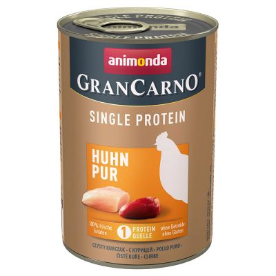 Animonda GranCarno Adult Single Protein 6 x 400 g