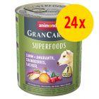 Animonda GranCarno Adult Superfoods 24 x 800 g