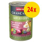 Animonda GranCarno Adult Superfoods 24 x 400 g
