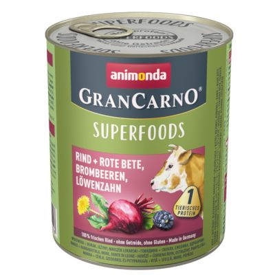 Animonda GranCarno Adult Superfoods 24 x 800 g