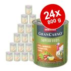 Animonda GranCarno Adult Superfoods 24 x 800 g pour chien