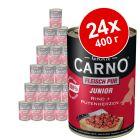 Бонус опаковка Animonda GranCarno Junior 24 x 400 г