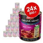 Икономична опаковка Animonda GranCarno Original  Adult 24 x 800 г