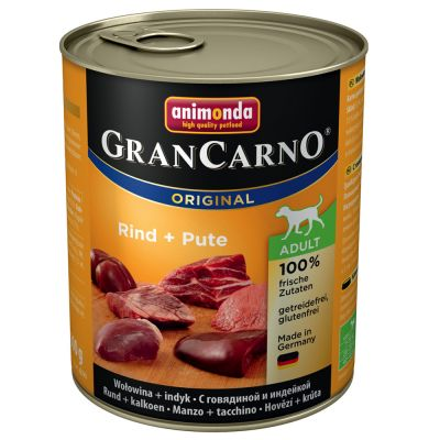 Animonda GranCarno Original Adult, 6 x 800 g