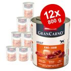 Animonda GranCarno Original Adult 12 x 800 g - Pack Ahorro