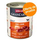 Animonda GranCarno Original Adult 6 x 800 g - Pack mixto