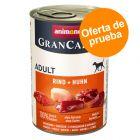 Animonda GranCarno Original Adult 6 x 400 g - Pack mixto