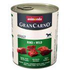Animonda GranCarno Original Adult 6 x 800 g pour chien