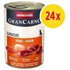 Animonda GranCarno Original Junior, 24 x 400 g