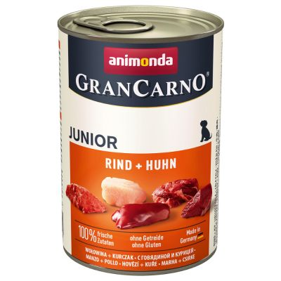 Animonda GranCarno Original Junior, 6 x 400 g