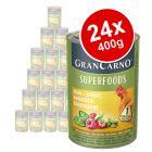Animonda GranCarno Superfoods Adult Saver Pack 24 x 400g