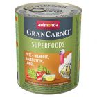 Animonda GranCarno Superfoods Adult 6 x 800g