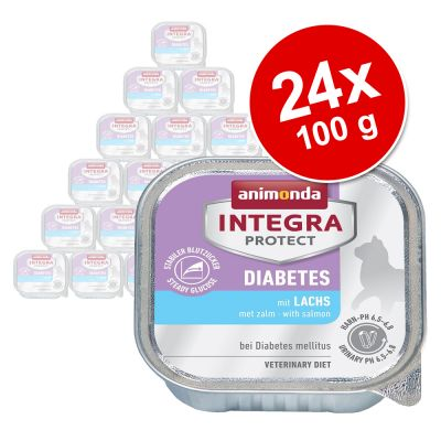 Animonda Integra Protect Adult Diabet Tăviță 24 x 100 g