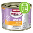 Animonda Integra Protect Adult Diabetes Blik Kattenvoer 24 x 200 g
