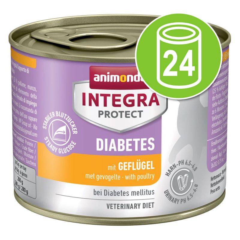 Animonda Integra Protect Adult Diabetes Blik Kattenvoer 24 x 200 g