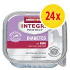 Animonda Integra Protect Adult Diabetes 24 x 100 g para gatos