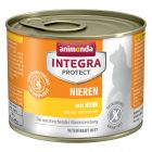 Animonda Integra Protect Adult Renal -purkkiruoka  6 x 200 g