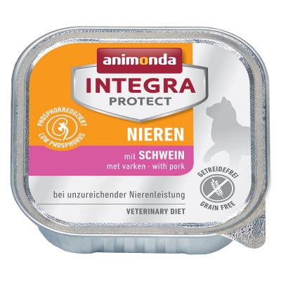 Animonda Integra Protect Adult Renal 24 x 100 g para gatos - Pack Ahorro